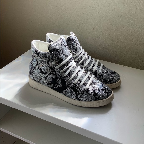 Converse Shoes | Limited Edition Silver